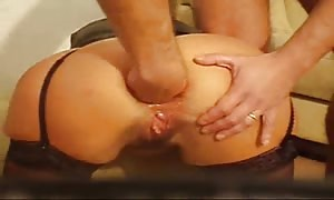 female butt sex fist-fucked and bottled - house made hard-core