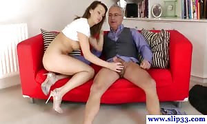 mature brit man being dicksucked by younger