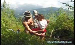 extreme 3some sex in nature