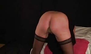 awesome punishement for my subordinated streetwalker. amateur home-made