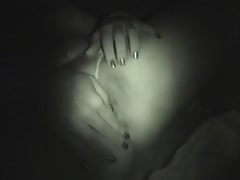 Beautiful young Russian is sucking a dick in the night scene