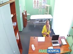 FakeHospital Claustrophobic sexy russian blonde
