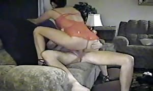 newbie wifey fuck on the couch