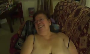 old lady Mexicana chunky girl has oral sex