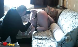 extraordinary hottie is being smacked stiff from butt