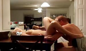 penetrating his wife on the eating