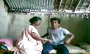 spying my indian servant with her young guy friend