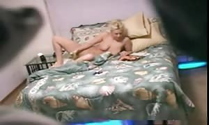 blonde reads mag got aroused after which jerk off