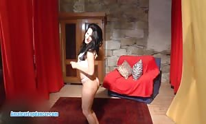 Lapdance and insane mouth fuck by wonderful czech sweetheart